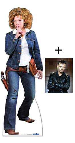 *FAN PACK* – PROFESSOR RIVER SONG COWGIRL OUTFIT (ALEX KINGSTON) – BBC DOCTOR WHO / DR WHO / DR. WHO – LIFESIZE CARDBOARD CUTOUT (STANDEE / STANDUP) – INCLUDES 8X10 (25X20CM) STAR PHOTO – FAN PACK #194