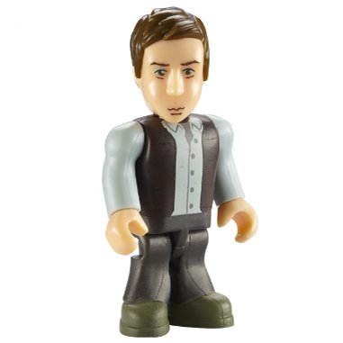 Dr Who Character Building Series 2 – Rory Williams (FIGURE ONLY – NO BASE)