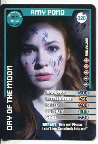 Doctor Who Monster Invasion Common Card #120 Amy Pond