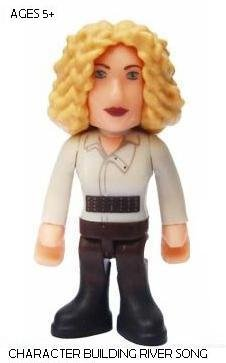 DOCTOR WHO CHARACTER BUILDING RIVER SONG LOOSE FIGURE