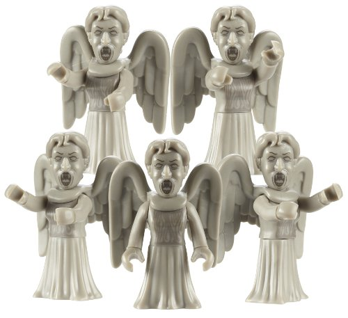 Character Building Weeping Angel Army Builder Pack