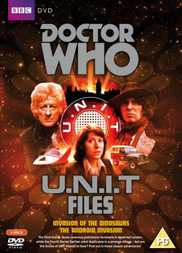 Doctor Who – U.N.I.T Files (Invasion of the Dinosaurs and the Android Invasion) [DVD]