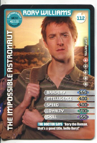Doctor Who Monster Invasion Common Card #112 Rory Williams