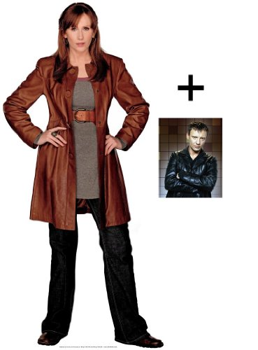 *FAN PACK* – DONNA NOBLE (CATHERINE TATE) – LIFESIZE CARDBOARD CUTOUT / STANDEE / STANDUP – BBC DOCTOR WHO / DR WHO / DR. WHO AND TORCHWOOD – INCLUDES 8×10″ (25x20cm) STAR PHOTO – FAN PACK #126