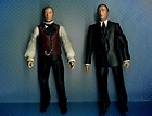2 x DR DOCTOR WHO The Master 5in action figure set John Simm David Tennant Era