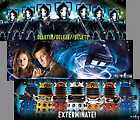 DOCTOR WHO (BBC TV Series) 3-Poster Collector's Set – Amy, Daleks, Cybermen