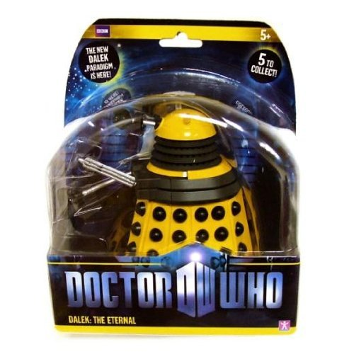 Doctor Who 2010 Paradigm Wave Figure – Yellow The Eternal Dalek