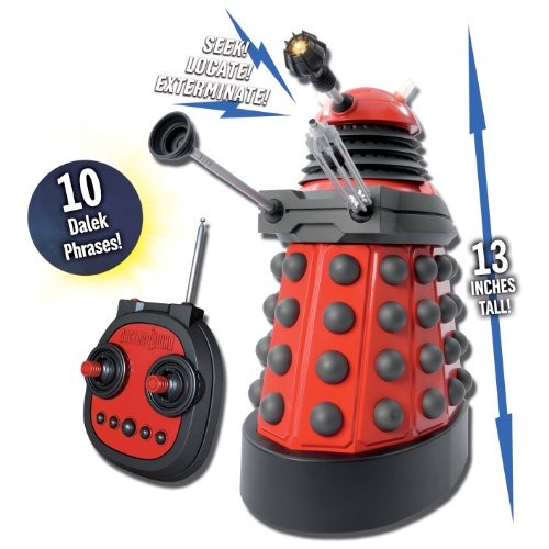 Doctor Who 13 inch  R/C Dalek Red Drone