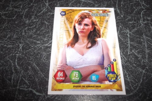 DOCTOR WHO. ALIEN ARMIES. PANINI TRADING CARD. 2004. VGC. 056 DONNA NOBLE.