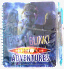 Doctor Who Adventures Toy – Weeping Angels Dont Blink Holographic Notebook + Pen