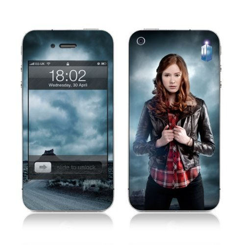 Diabloskinz Vinyl Adhesive Skin,Decal,Sticker for the iPhone 4/4S – Amy Pond