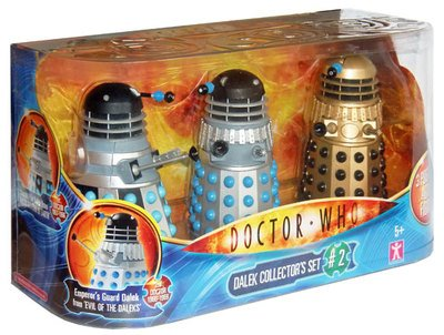 doctor who – dalek collector set 2