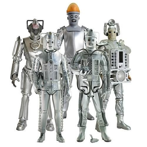 Doctor Who Age of Steel Collect & Build 4 Figure Set