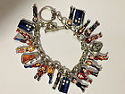 DR WHO BRACELET MATT SMITH TARDIS DALEKS CYBERMEN CHARMS DOCTOR TENNANT