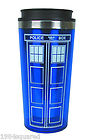 Doctor Who Tardis Travel Mug 16 oz Coffee Mug Dr New Mint MIB
