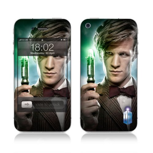 Diabloskinz Vinyl Adhesive Skin,Decal,Sticker for the iPhone 4/4S – The Doctor And The Screwdriver
