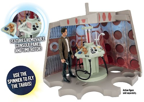 Doctor Who Junk Tardis Console Playset