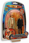 "★ DOCTOR WHO – 5th Doctor & The Master 6"" Action Figure 2-Pack #NEW"