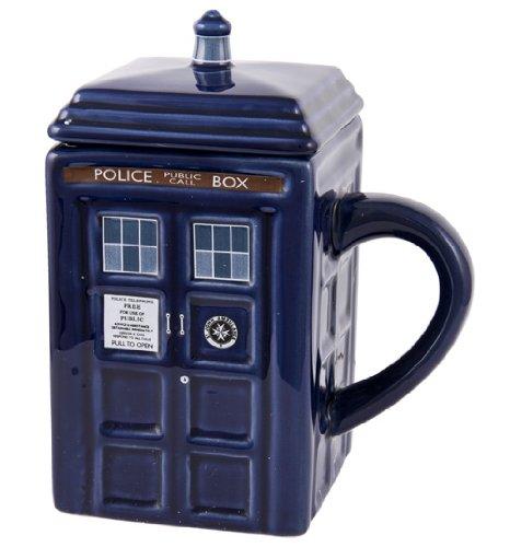 Dr Who Tardis Mug With Lid