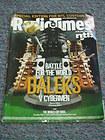 Radio Times – Battle for the World Daleks V Cybermen
