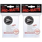 ULTRA PRO CARD SLEEVES Pro Matte White Deck Protectors (100) DR WHO / TORCHWOOD