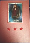 Amy Pond Doctor Who Greetings / Birthday Card  – Whiting Handmade Cards