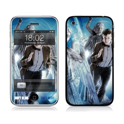 Diabloskinz Vinyl Adhesive Skin,Decal,Sticker for the iPhone 3/3GS – Don't Blink