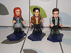 Dr Who character building series 2 figures the doctor, amy pond and rory