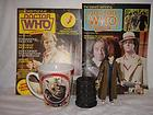 Doctor Who. Job Lot. Dr Who Mug, Dalek Egg Cup, 2 Comics and Figure.