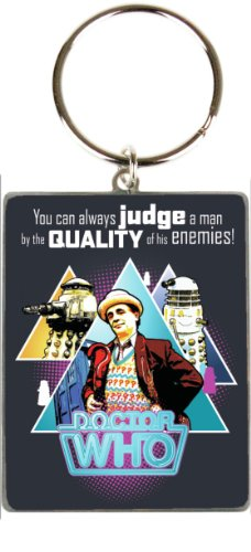 Doctor Who ~ Seventh Doctor – Metal Keyring