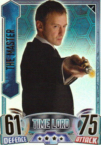 Doctor Who Alien Attax Topps – Rainbow Foil 006 Master