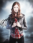 Doctor Who Autographed 8×10 Photo Officially signed by Karen Gillan Amy Pond K2