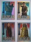 DOCTOR WHO ALIEN ATTAX SET PICK RAINBOW OR MIRROR FOIL CARD CARD No p&p for 5+