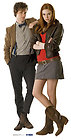 Doctor Who and Amy Pond Standee Stand Up Cutout