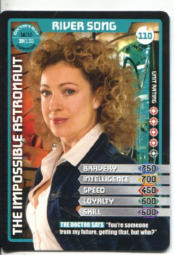 Doctor Who Monster Invasion Common Card #110 River Song