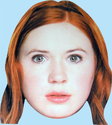 Doctor Who's Amy Pond – Card Face Mask