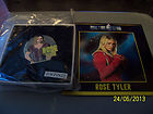 Doctor Who ROSE TYLER Badge With Info