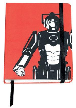 Dr Who A6 Cyberman Notebook Hardback