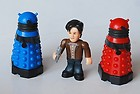 Dr Who Character Options 11th Doctor & Daleks Mini Figures
