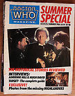 Doctor Who Magazine — issue number Summer special – 1986 – marvel comics