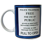 Dr Who Tardis Ceramic 11oz Mug – boxed – Official Licensed Product – Great Gift