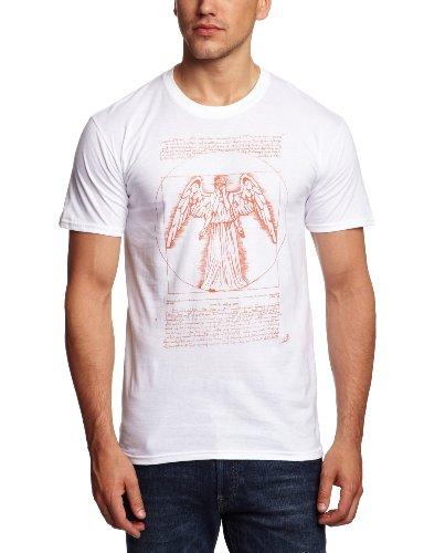 Bravado Doctor Who – Weeping Angel Men's T-Shirt White Large