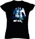 "Doctor Who – Weeping Angel ""Don't Blink Female T-Shirt – Brand New"