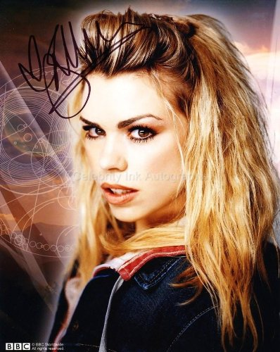 BILLIE PIPER as Rose Tyler – Doctor Who GENUINE AUTOGRAPH