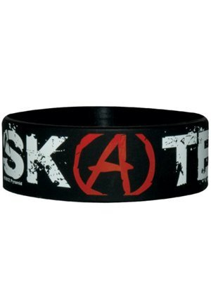 Skate Or Die Rubber Wristband