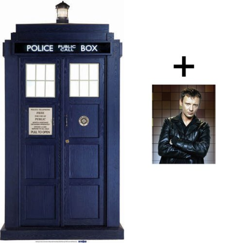 *FAN PACK* – THE TARDIS *HUGE 192cm* CARDBOARD CUTOUT / STANDEE / STANDUP – BBC Doctor Who / Dr Who / Dr. Who – INCLUDES 8×10″ (25x20cm) STAR PHOTO – FAN PACK #133