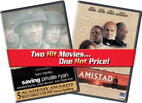 Saving Private Ryan & Amistad [DVD] [1998] [Region 1] [US Import] [NTSC]
