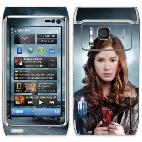 Diabloskinz Vinyl Adhesive Skin,Decal,Sticker for the Nokia N8 – Amy Pond