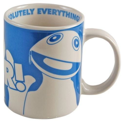 Rainbow Zippy Mug I'm So Clever! Gift Boxed Rainbow Officially Licensed Product