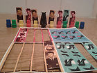 Dr Who and the Daleks game spare play pieces and dalek for spiromatic game